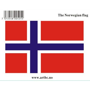 Stickers - Flagg Norge liten