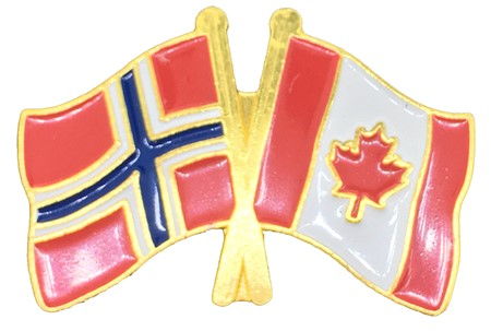 Pins - Norge - Canada