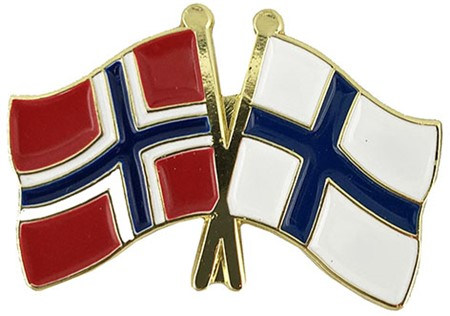 Pins - Norge - Finland