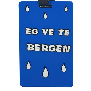 Name tag - Eg ve te Bergen