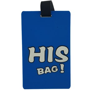 Name tag - His bag
