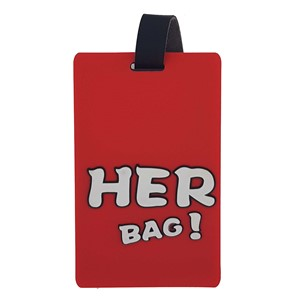 Name tag - Her bag