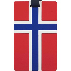 Name tag - Norsk flagg